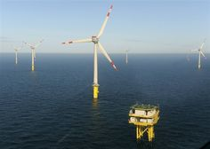 Power East Coast via wind? Doable with 144000 offshore turbines study says (Photo: Ingo Wagner / Reuters) Climate Change Meaning, About Climate Change, Environmental Challenges, Environmental Issues, Offshore Wind Turbines, Offshore Wind Farms, Wind Power, Alternative Energy, Tecnologia