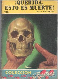 COLECCION RASTROS Nº 135 DANA CHAMBERS - ¡ QUERIDA,ESTO ES MUERTE !- ACME AGENCY 1951 - 192 PGS - Foto 1