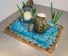 3-D fish cake