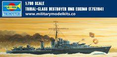 Tribal-class Destroyer HMS Eskimo [F75]1941 Trumpeter 05757