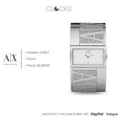 Armani Exchange para dama a sólo $2,600 #Nuevo #Clocks  http://instagram.com/clocksrelojes https://www.facebook.com/clocksrelojes https://twitter.com/ClocksRelojes