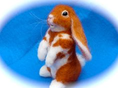 Felted Bunny ;)