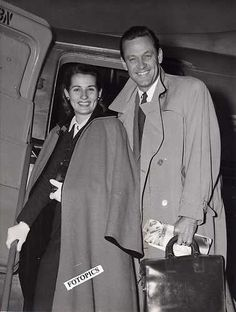 William Holden and Brenda Marshall (1961)