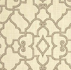 Drapes Curtains Geometric Taupe Cream Ivory by SimplyGaloreDecor, $65.00