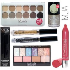 MUA Haul by geewhiskers, via Polyvore