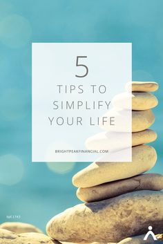 Life is complicated. On any given day we have many pulls and tugs on our time, energy and money. If the pace of life seems to spin out of control, we begin to feel a little lost. Stopping is not an option. However, slowing down is doable. Start with these five tips to simplify your life … you may just break the ironic habit of the fast sprints into exhaustion and loss. #simpleliving