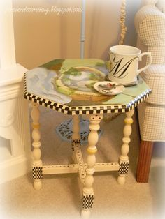 MacKenzie Childs Inspiration Table