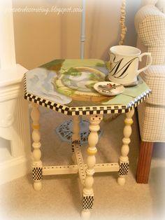 MacKenzie Childs Inspiration Table
