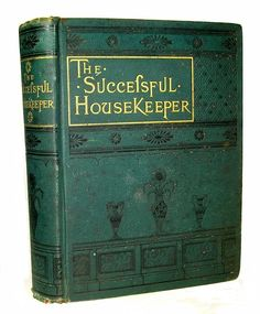 Victorian Antique Cookbook Cookery 1883 Confectionery Pastry House Home Family