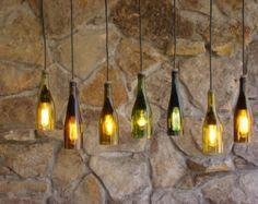 botella de vino ligera por glow828 en Etsy