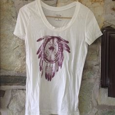 Lilu PacSun t-shirt with dream catcher sz small