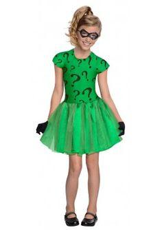 Disfraz de Riddler tutú para niña