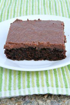 Easy Chocolate Zucchini Cake Recipe