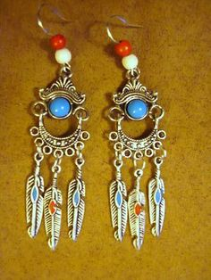 Patriotic Earrings. Soon time to vote. Get these for the 4th of July!
