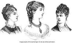 1870s hair - Google Search