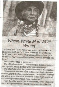 Where white man went wrong | Cool People Shop