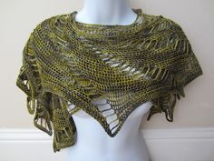 Sweet Eleanor Scarf by Quince Tart, crocheted by TooCozy | malabrigo Sock in Turner