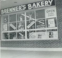 Great shot of Brenner's Bakery, Glebe Road and Columbia Pike, Arlington, VA