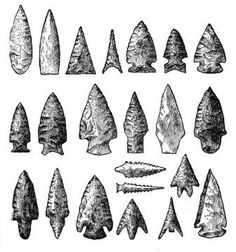 native american symbols | the arrowhead symbol used in a pictogram the arrowhead symbol