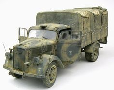 Opel Blitz 1:35 Scale Model