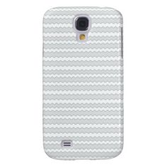 Zigzag Stripes Pearl Seed Pattern Galaxy S4 Case
