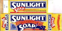 1984 Levers Sunlight Soap Centenary Box - New Zealand