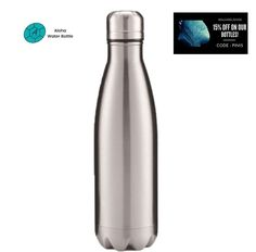 FREE SHIPPING. BPA-FREE. SYMBOL OF NEUTRALITY, THE COLOR GRAY HAS A LOT OF POSITIVE MEANINGS SUCH AS SOFTNESS, ELEGANCE. TRY OUR MAGNIFICIENT STAINLESS STEEL WATER BOTTLE GRAY! Light and refined, this reusable insulated bottle is perfect to keep your favorite drinks at the ideal temperature. By adopting this gourd, you contribute to the reduction of plastic bottles on Earth! #travelbottle #insulatedbottle #waterbottle Travel Bottles, Stainless Steel Water Bottle, Gourd, Plastic Bottles, Earth, Free Shipping, Gray, Drinks, Metal