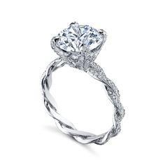 Platinum Twist by A Mystique Collection at Mystique Jewelers Alexandria Virginia (VA)