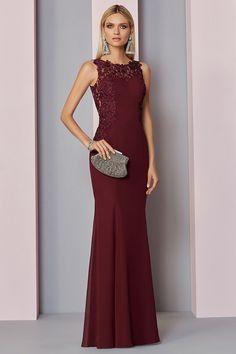 1220c205ce6c6d Fabulous Tulle   Chiffon Jewel Neckline Mermaid Mother Of The Bride Dress  With Lace Appliques