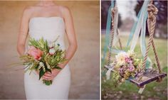 {Wedding Trends} : Rustic Vintage Wedding Bouquets | bellethemagazine.com