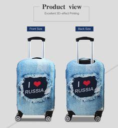 Panda Head White Chewing Lollipop Travel Suitcase Protector Zipper Suitcase Cover Elastic
