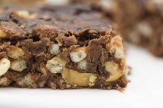 Peanut Butter-Chocolate Squares