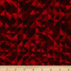 108 In. Quilt Wide Back Prisms Red from @fabricdotcom  From StudioE Fabrics, this 108'' wide quilt back fabric is perfect for quilt backings, curtains, duvet covers and more. Colors include shades of red.