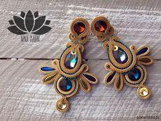 Soutache Earrings, Jewelery, Brooch, Multimedia, Doodles, Accessories, Fashion, Earrings, Jewelry