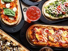 & Pizza. 15 W 28th St. The newest Neapolitan pies, by-the-slice standards, Grandma squares, and Roman-style tray pizzas
