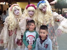@usj_official Tommy and Mikey with #Japanese #Ghost this #halloween 2014