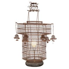 Handwoven antique Chinese lantern