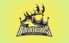 """Logos esportivos das casas nobres de """"Game of Thrones"""""""