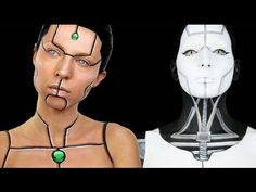 Cyborg Makeup Tutorial