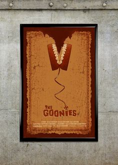 The Goonies 11x17 Movie Poster by adamrabalais on Etsy, $20.00