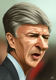 Arsene Wenger by met mangindaan