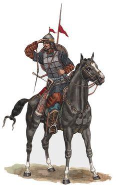 1250 - 1300  ?? Oghuz Warrior