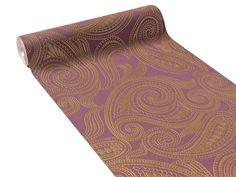 Intissé SCHEHERAZADE coloris violet - by Barbara Becker
