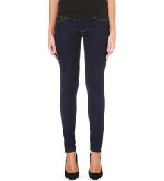 b4d1f2f14bb Michael Michael Kors Skinny Mid Rise Jeans Black Size 2 US (UK 6) LF075 HH  01  fashion  clothing  shoes  accessories  womensclothing  jeans (ebay link)