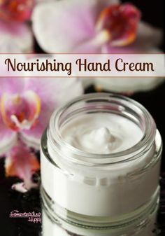 Keep your hands soft and smooth in any weather with this skin nourishing hand cream. The Homesteading Hippy