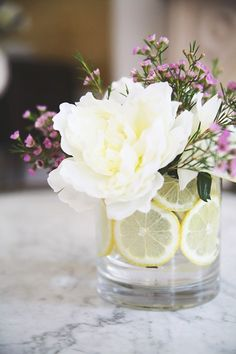 My Favorite Flower Arrangement Hacks for Home + Events ~ this would be great for table deco for wedding