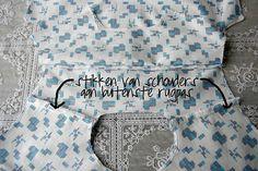 Shirt sew along by Mamasha op Flickr, via Flickr - rugbeleg van hemd