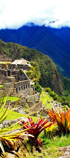 The Inca trail is an in depth journey through ecosystems. The highlight is Machu Picchu, the lost city of the Incas that was discovered in 1911.