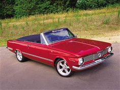 '65 Plymouth Valiant, this was my Das old car is what made me love convertables :)