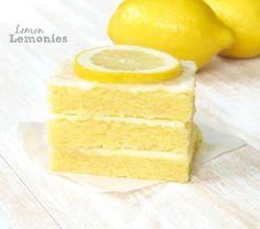 Lemon Lemonies. Delicious lemon lemonies that are dense, fudgy and jam packed with bold lemon flavor!